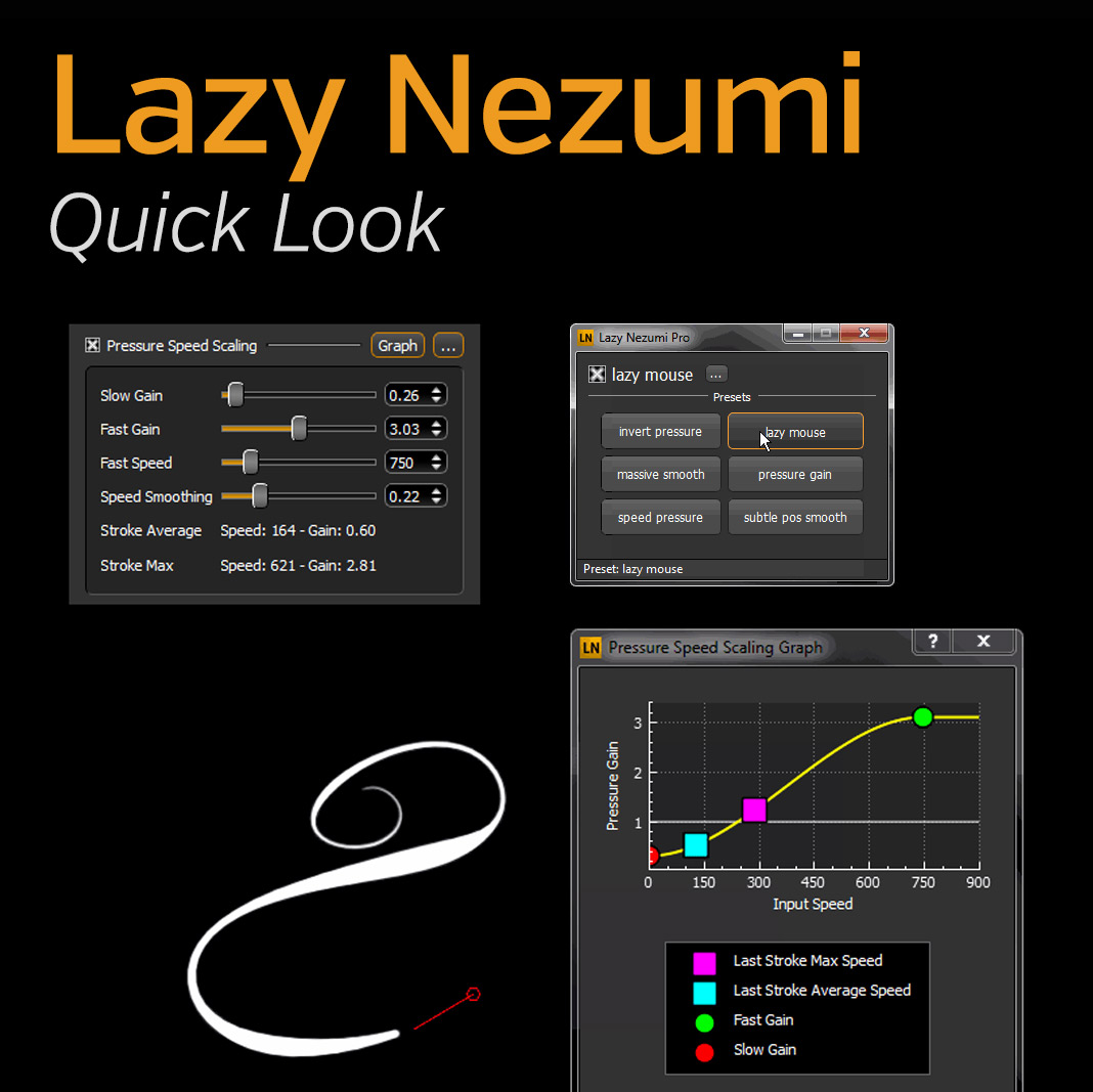 Lazy-Nezumi-line-Smoothing-Plugin-for-Photoshop-Thumbnail